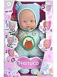 Famosa 700012664 - Nenuco Soft Bambola, 5 Funzioni, 30 Cm, Azzurra