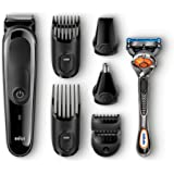 Amazon Price History for:Braun MGK3060 Men's Beard Trimmer for Hair / Head Trimming, Grooming Kit with 4 Combs & Gillette Fusion Razor, 13 Length Settings for Ultimate Precision