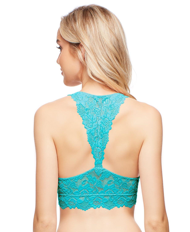 608fbb16a9dec Jenny Jen Sexy Lace Mia Hourglass Racerback Bralette for Women
