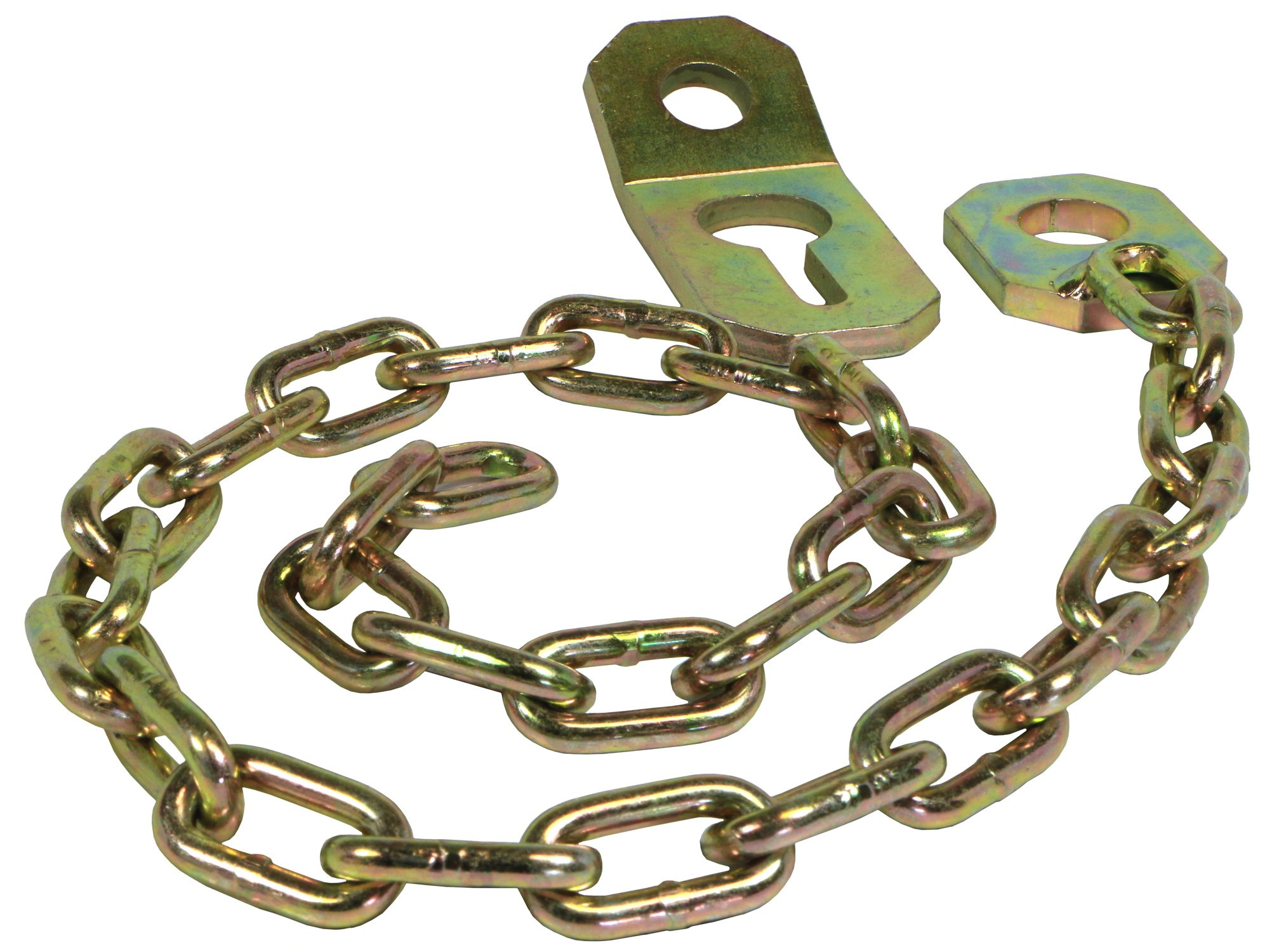 RanchEx 102105 Stay Chain Assembly - Fasten Top Link Pin to Lift Arm Pin, 11'' Cat. 1 by RanchEx