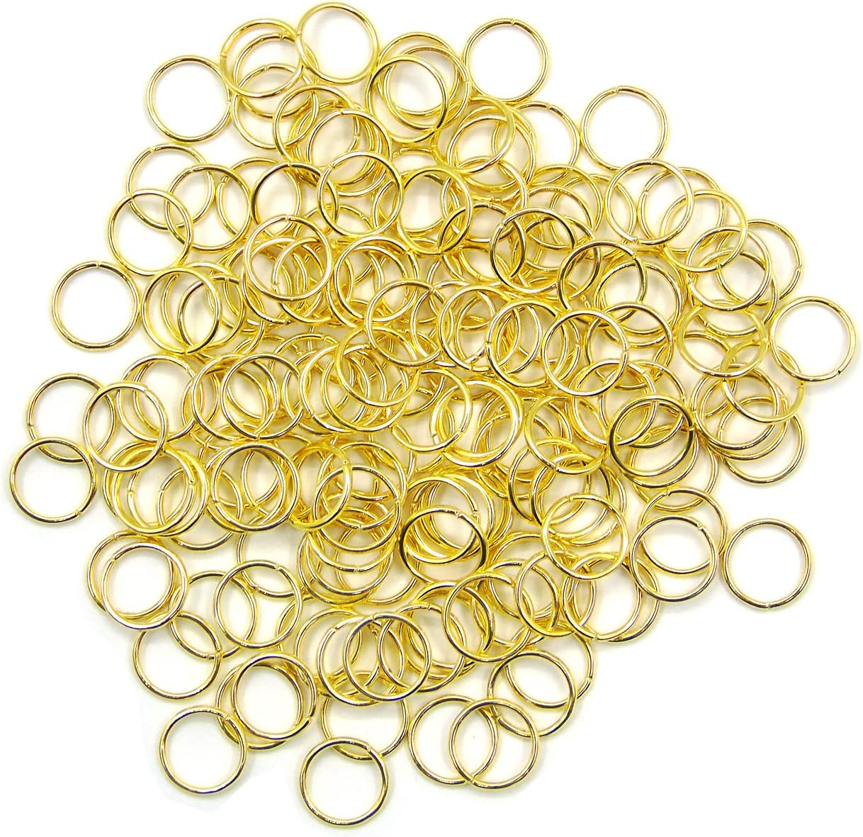 Bronze Hoop 20 Pc Large Open Ring Circle Pendant Twisted Hoop Rings Bronze Jumprings Bronze Jump Rings 10mm Loop Connector