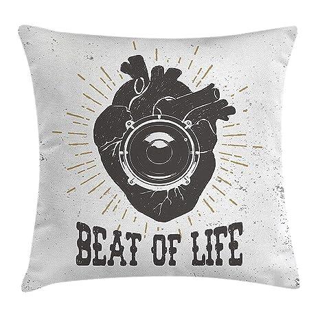Klotr Funda de Almohada,Funda de Cojín Vintage Cushion Cover ...