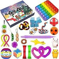 2021 Christmas Advent Calendar Toy Set, 24Pcs Holiday Christmas Countdown Calendar Sensory Fidget Toys Pack, Simple…