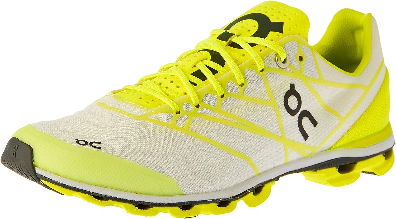 On Running Women s Cloudflash Speed Shoe Neon White
