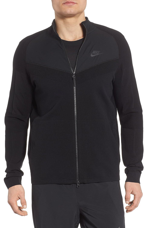[ナイキ] メンズ ジャケットブルゾン Nike Sportswear Tech Knit Jacket [並行輸入品] B07C9YXRVH Large