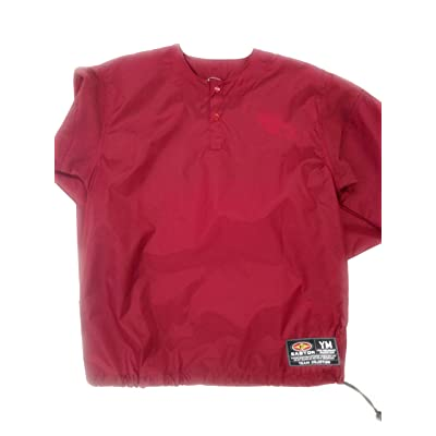 Easton Game day Pullover, Maroon, Youth Large