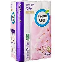 Kleannara Herbgarden Cherry Blossom Premium Toilet Roll Tissue-3ply 30m (Pack of 30)