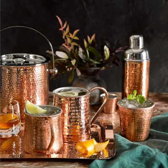Hammered Copper Imperial Pint Mug | Williams-Sonoma