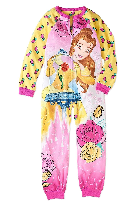 Beauty and the Beast Girls Belle Fleece Blanket Pajama Sleeper