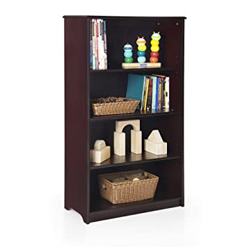 Amazon Com Guidecraft Classic 48 Bookshelf Espresso Storage