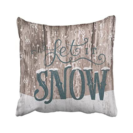 Amazon Shorping Zippered Pillow Covers Pillowcases 40X40 Inch Fascinating Winter Throw Pillow Covers