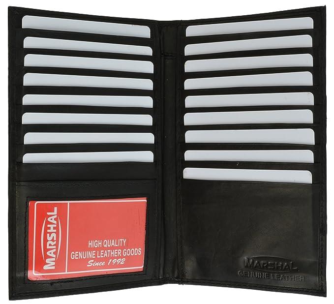 new high end leather bifold credit card holder 1529cf black - Bifold Card Holder