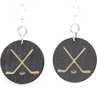 product image for Hockey Puck Earrings