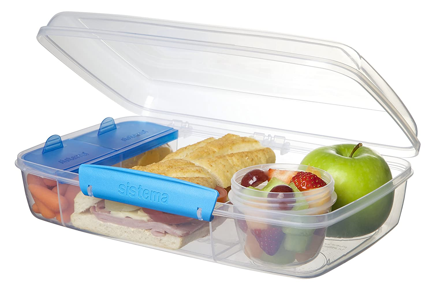 Superbe Amazon.com: Sistema To Go Collection Bento Box For Lunch And Food Storage,  Multicolor: Kitchen U0026 Dining