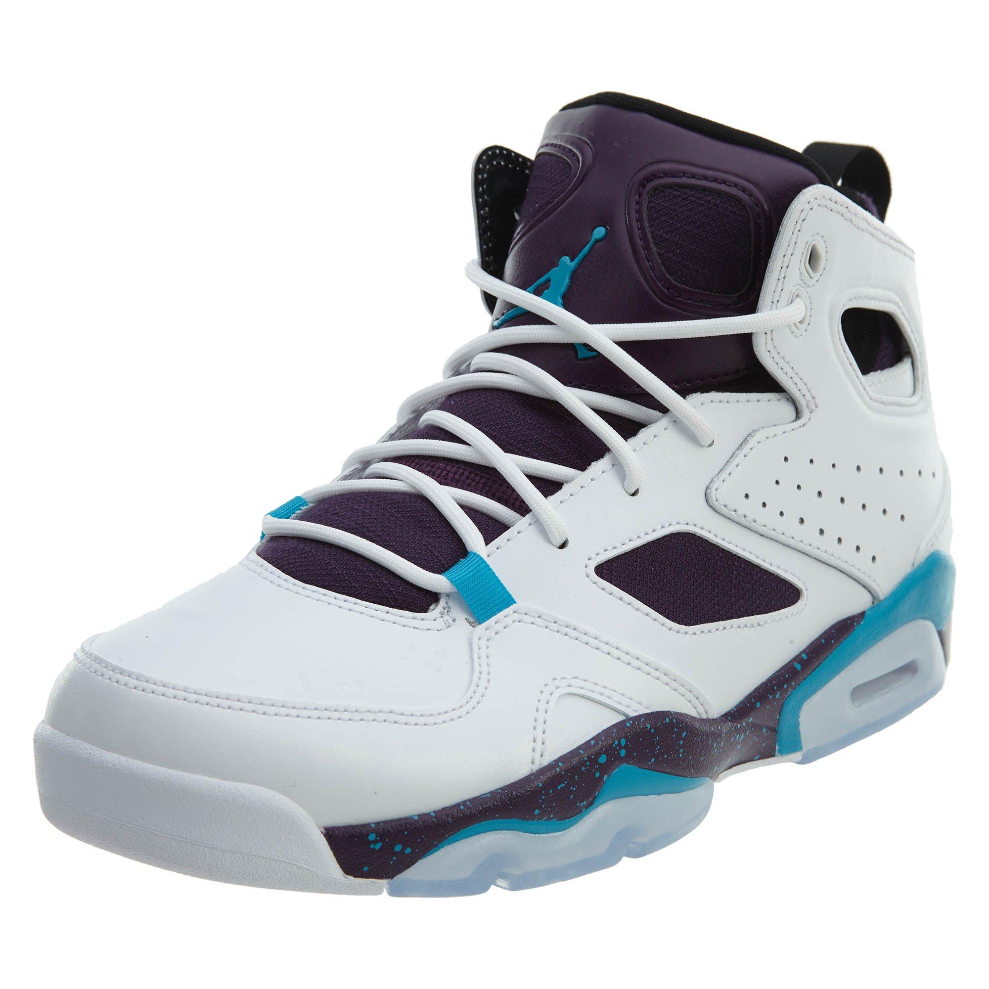 7ce06b1da2c0 Galleon - Jordan Mens Flight Club 91 White Blue Lagoon Purple Black Size  12.5