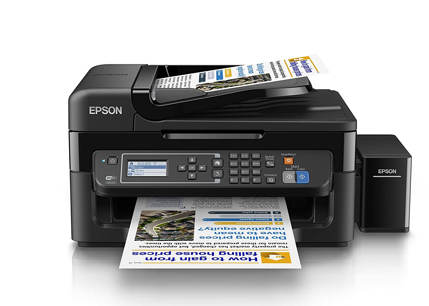Epson L565 Wi Fi All In One Ink Tank Printer Canon Pixma E510 Multifunction Inkjet