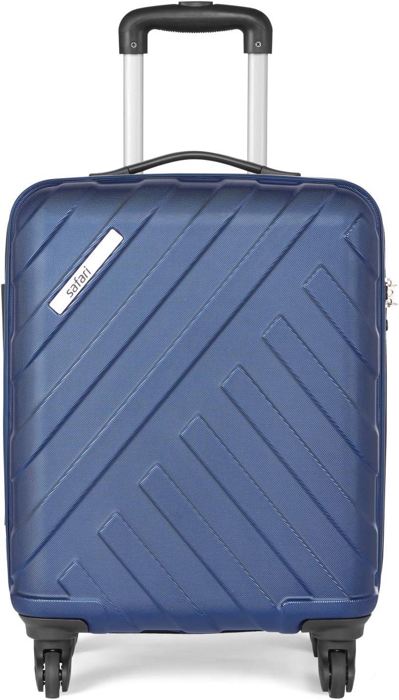 Safari RAY Polycarbonate 53 cms Midnight Blue Hardsided Cabin Luggage