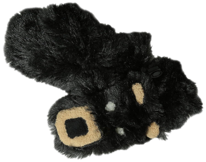 Hatley Little Boys Fuzzy Fleece Mittens-Bear