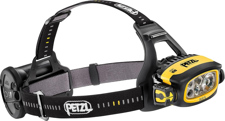 Petzl Stirnlampe Duo S gelb (510) 000