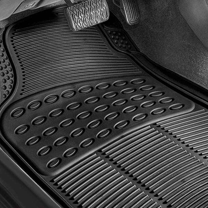Phenomenal Goplus 4Pcs Car Floor Mats All Weather Floor Mats Rubber Heavy Duty Universal For Car Suv Truck Cars Black Evergreenethics Interior Chair Design Evergreenethicsorg