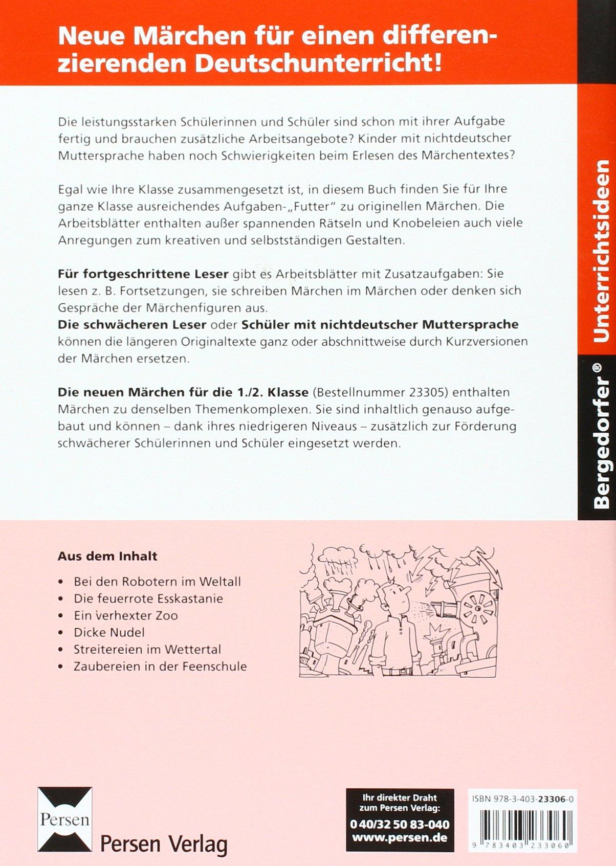 Neue Märchen für die 3./4. Klasse: Differenzierte Texte und Aufgaben ...