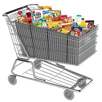 El realmente Clever carrito de la compra bolsas bolsas de Reino Unido – Carrito de supermercado