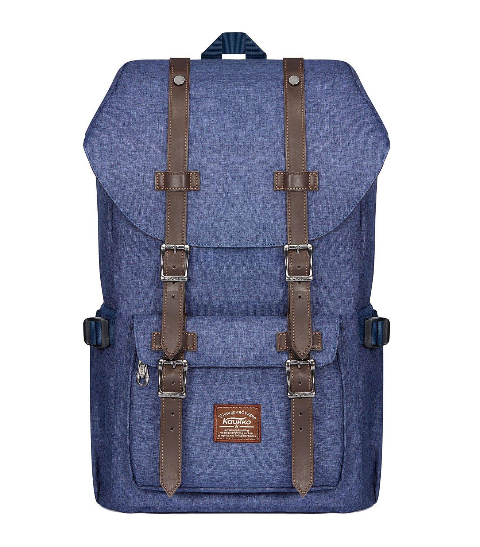 51870a4bfcc1c Laptop-Rucksäcke Damen Herren KAUKKO Backpack 18 Zoll Laptop Rucksack  Schulrucksack für 17 Notebook Lässiger