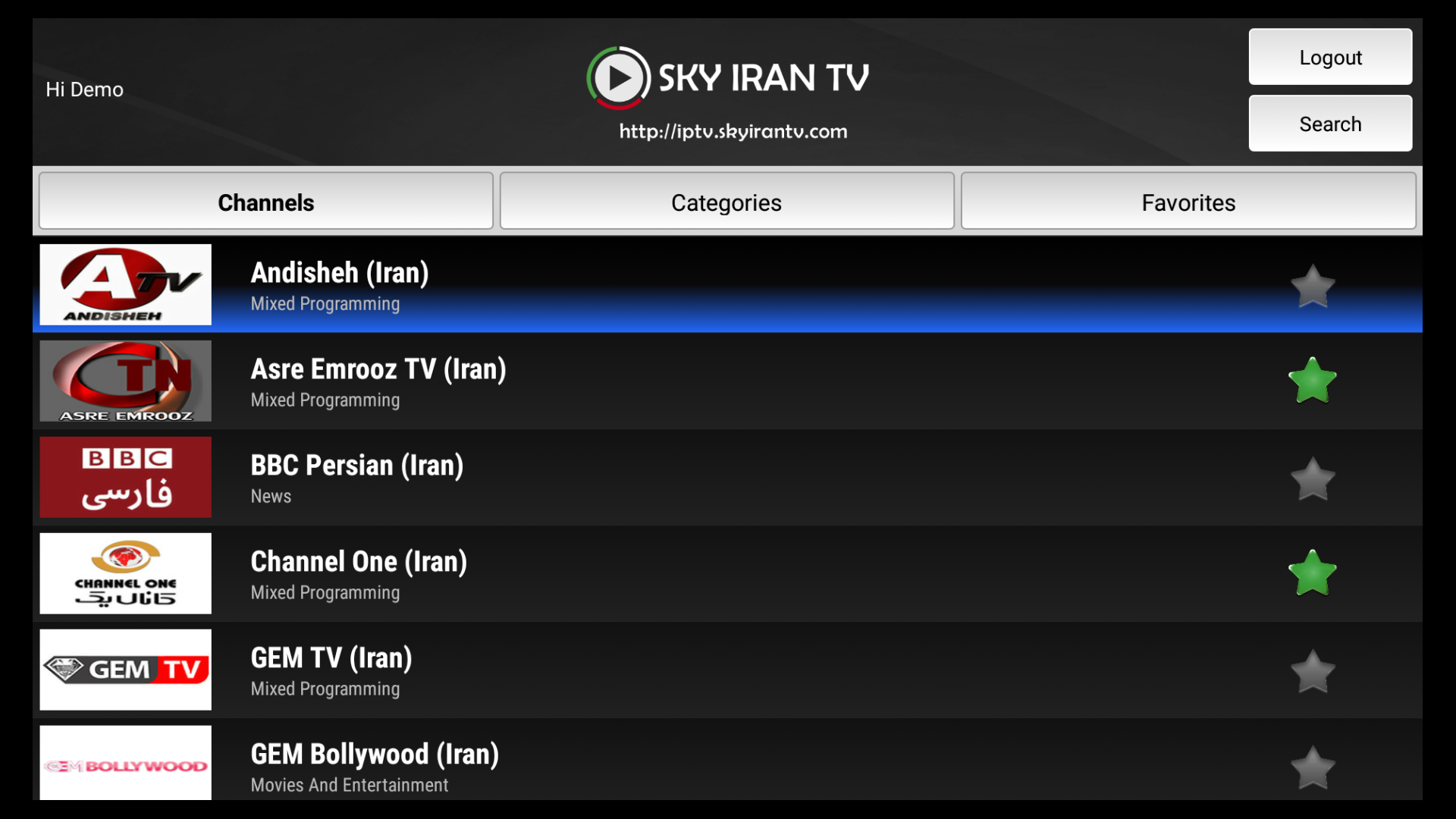 Amazon com: SkyIran TV: Appstore for Android