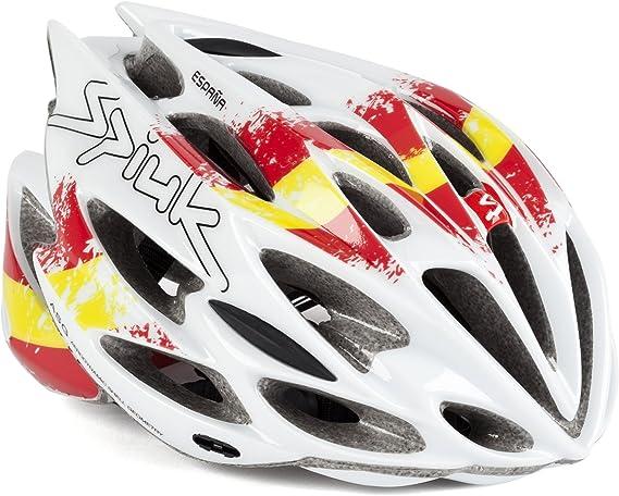 Spiuk Nexion - Casco de Ciclismo, diseño España, Talla 53-61: Amazon.es: Deportes y aire libre