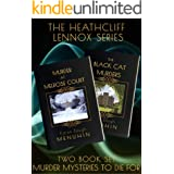 The Heathcliff Lennox Series: Books 1 & 2: 1920s Country House Murder Mysteries: Perfect Fireside Reading