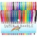 Super Doodle 36 Color Gel Pen Set