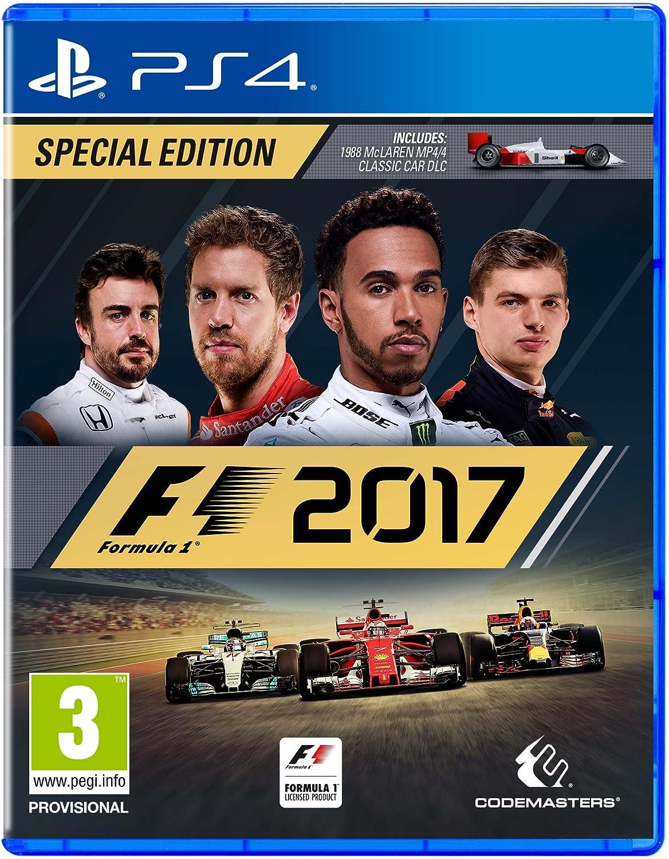 F1 2017 Special Edition (Playstation 4) [importación inglesa]: Amazon.es: Videojuegos