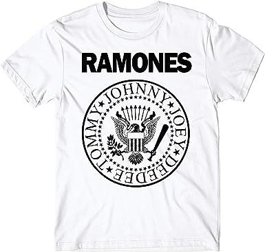 LaMAGLIERIA Camiseta Hombre - Ramones t-Shirt Punk Rock Band 100% algodón: Amazon.es: Ropa y accesorios