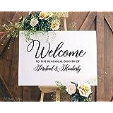 Amazon.com: Cartel de bienvenida de girasoles con texto en ...