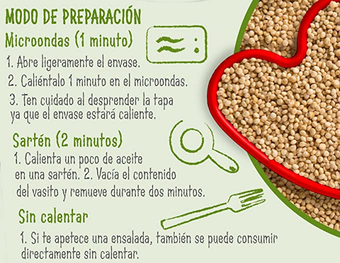 Brillante Quinoa Integral 125G X 2 - [Pack De 8] - Total 2 Kg ...