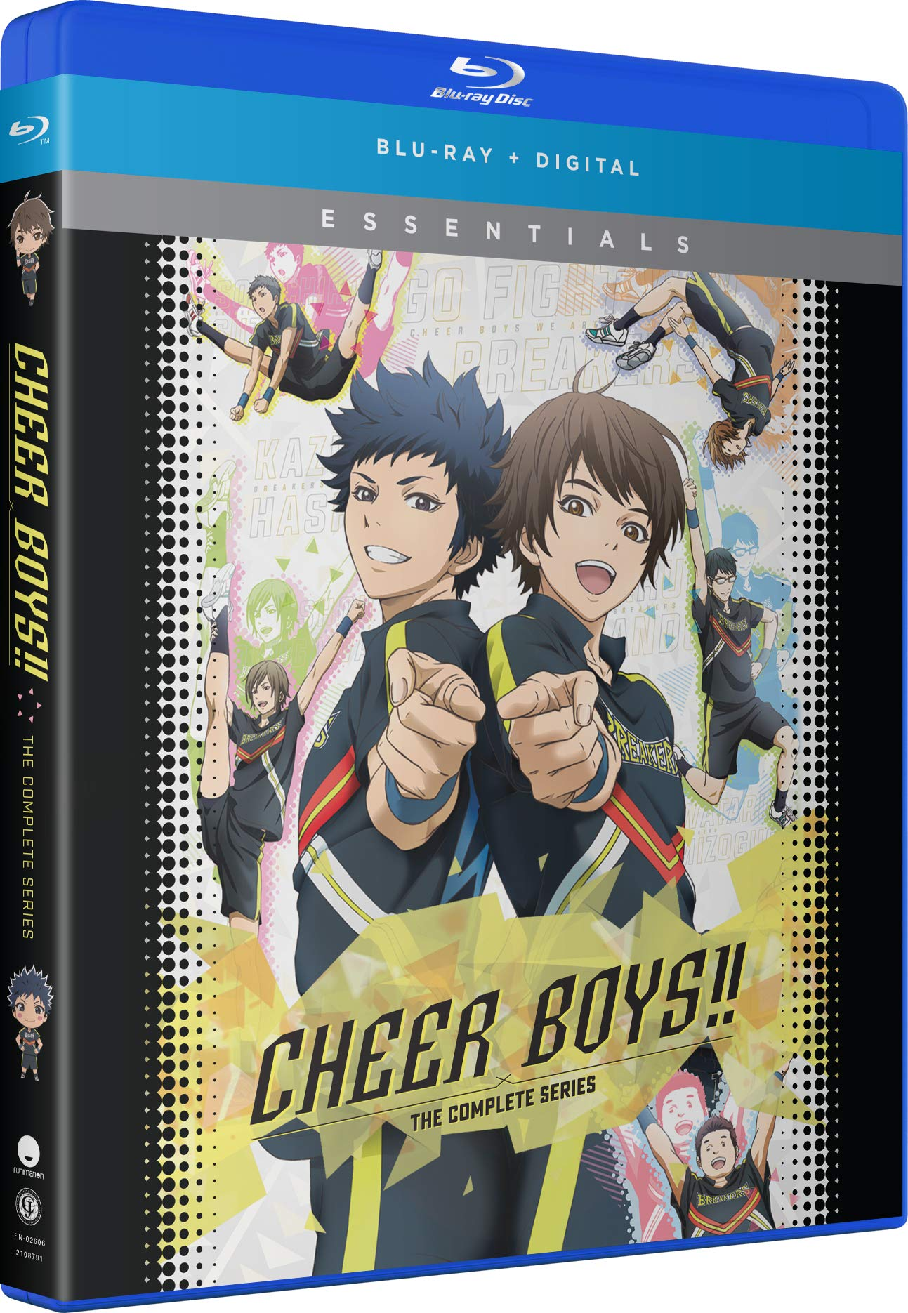 Blu-ray : Cheer Boys!!: The Complete Series (Digital Copy, Subtitled)