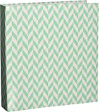 Project Life Album, 6 by 8-Inch, Blue Herringbone