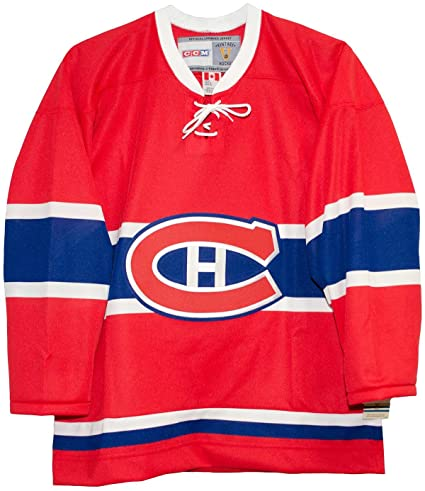 6748ff567e4 Amazon.com : Montreal Canadiens 1955 Red Vintage Hockey Jersey ...