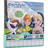 """Disney Frozen - Sing-Along Songs! Piano Songbook with Built-In Keyboard - Features """"Do You want to Build a Snowman?"""" - PI Kids"""
