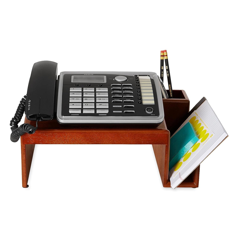 Amazoncom Rolodex Wood Tones Mahogany Phone Stand 1734646
