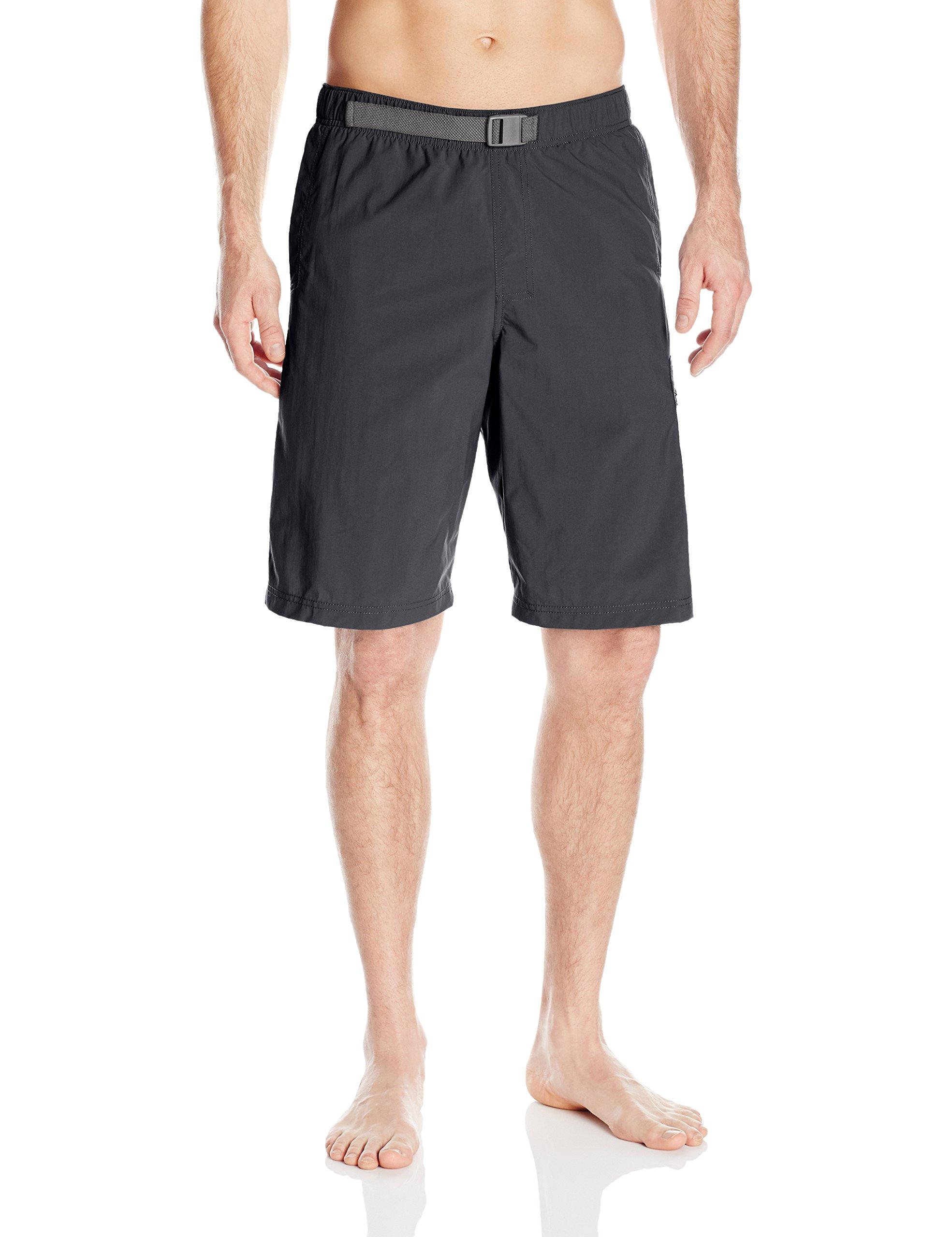 Columbia Men's Palmerston Peak Short, Waterproof, UV Sun Protection, Black, Medium x 11'' Inseam by Columbia