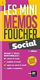 Les mini memos Foucher - Social - 2e édition - Révision