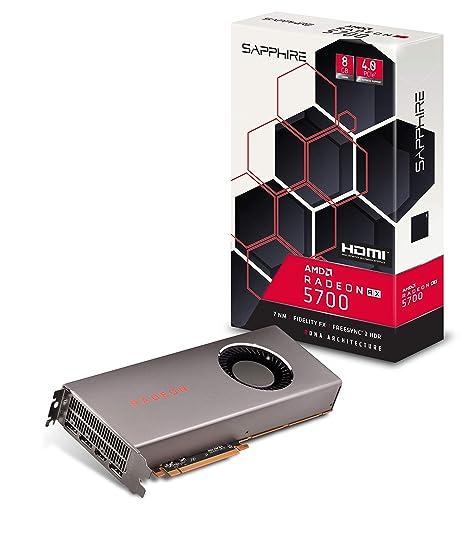 Sapphire Radeon RX 5700 - Tarjeta gráfica (8 GB, GDDR6, HDMI/Triple DP (UEFI) PCI-E