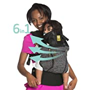 LÍLLÉbaby The COMPLETE All Seasons SIX-Position, 360° Ergonomic Baby & Child Carrier, Black  5th Ave  - Multi-Position Ergonomic Baby Carrier for Infants Babies Toddlers