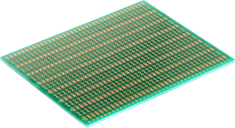 1 Sided PCB Zig-zag Pattern Soldermask BB2 BusBoard-2 3.94 x 3.15in Size 2 = 100 x 80mm