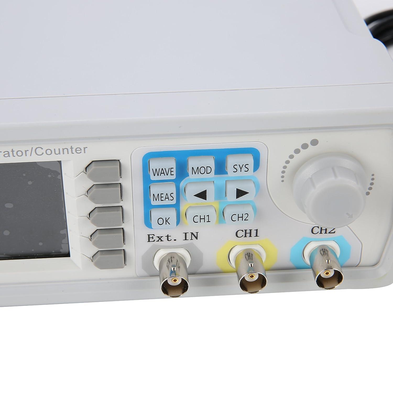 15MHz Dual-Channel DDS Function Signal Generator High Precision Arbitray Waveform Generator 266MSa//s