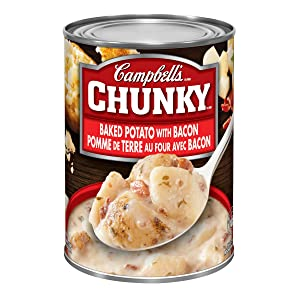 Campbell's Chunky Soup Baked Potato With Bacon 540 Millilitres 18.25 Fluid Ounces