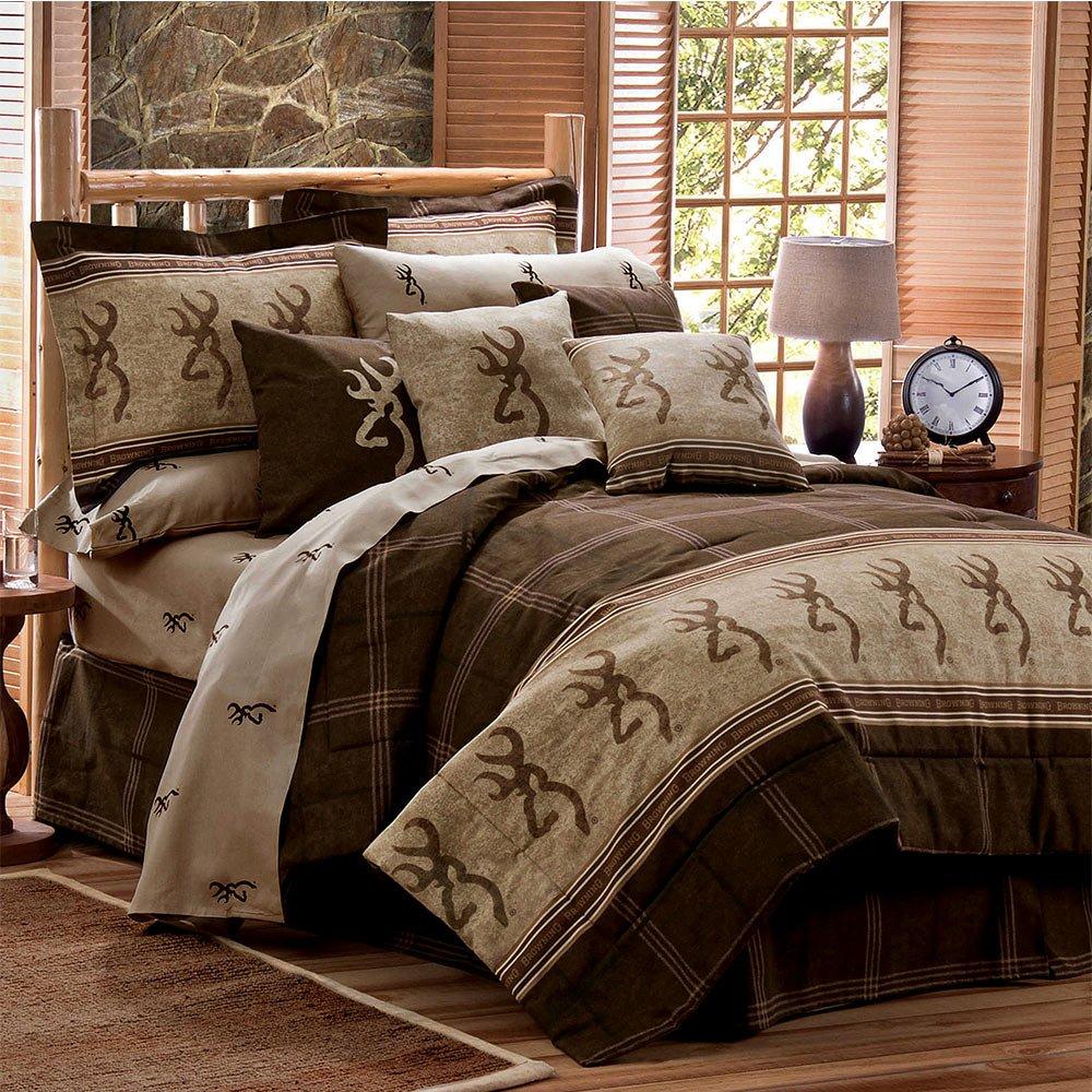 Browning Buckmark - Comforter Set - Queen