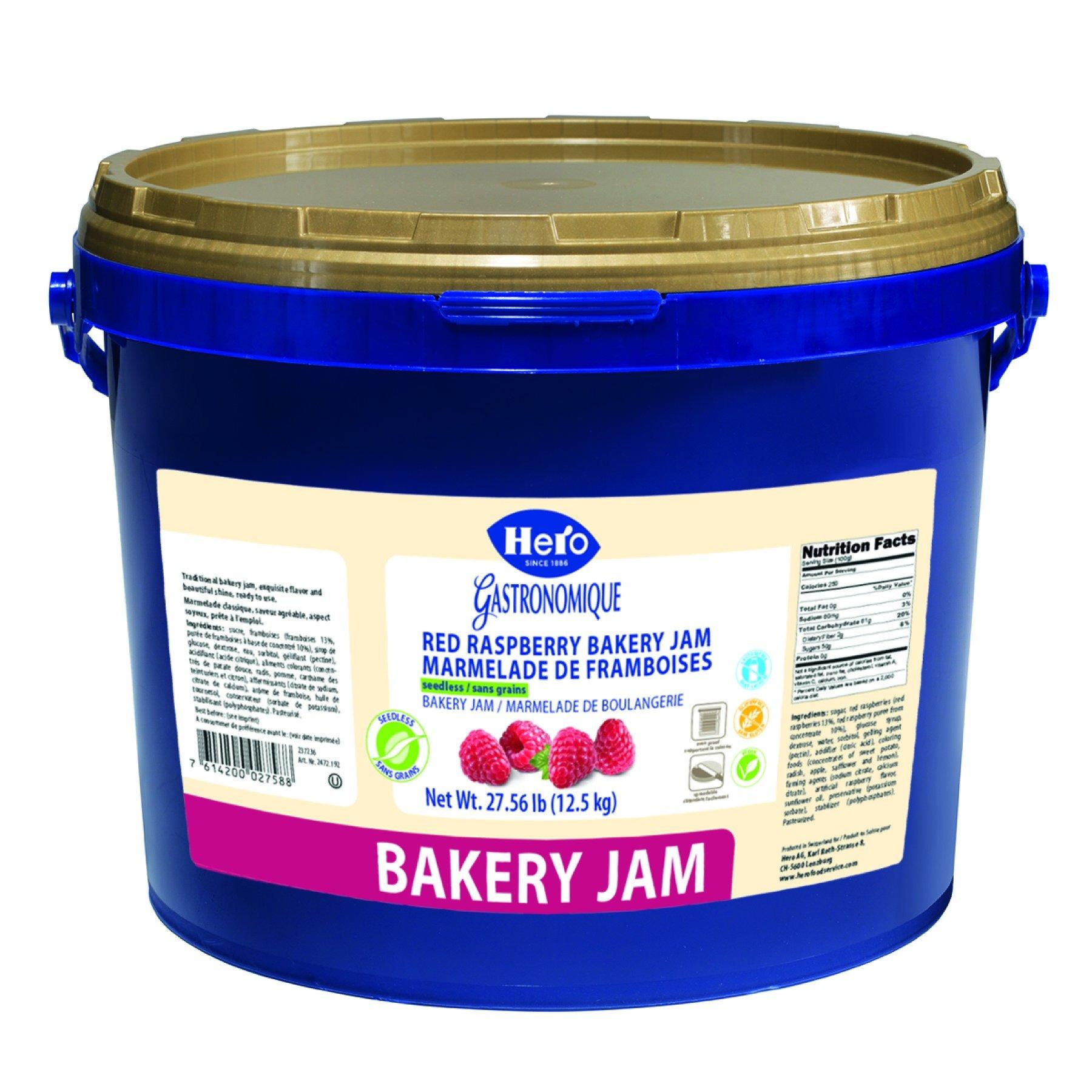 Hero Raspberry Bakery Jam, 27.56 Pound by Hero