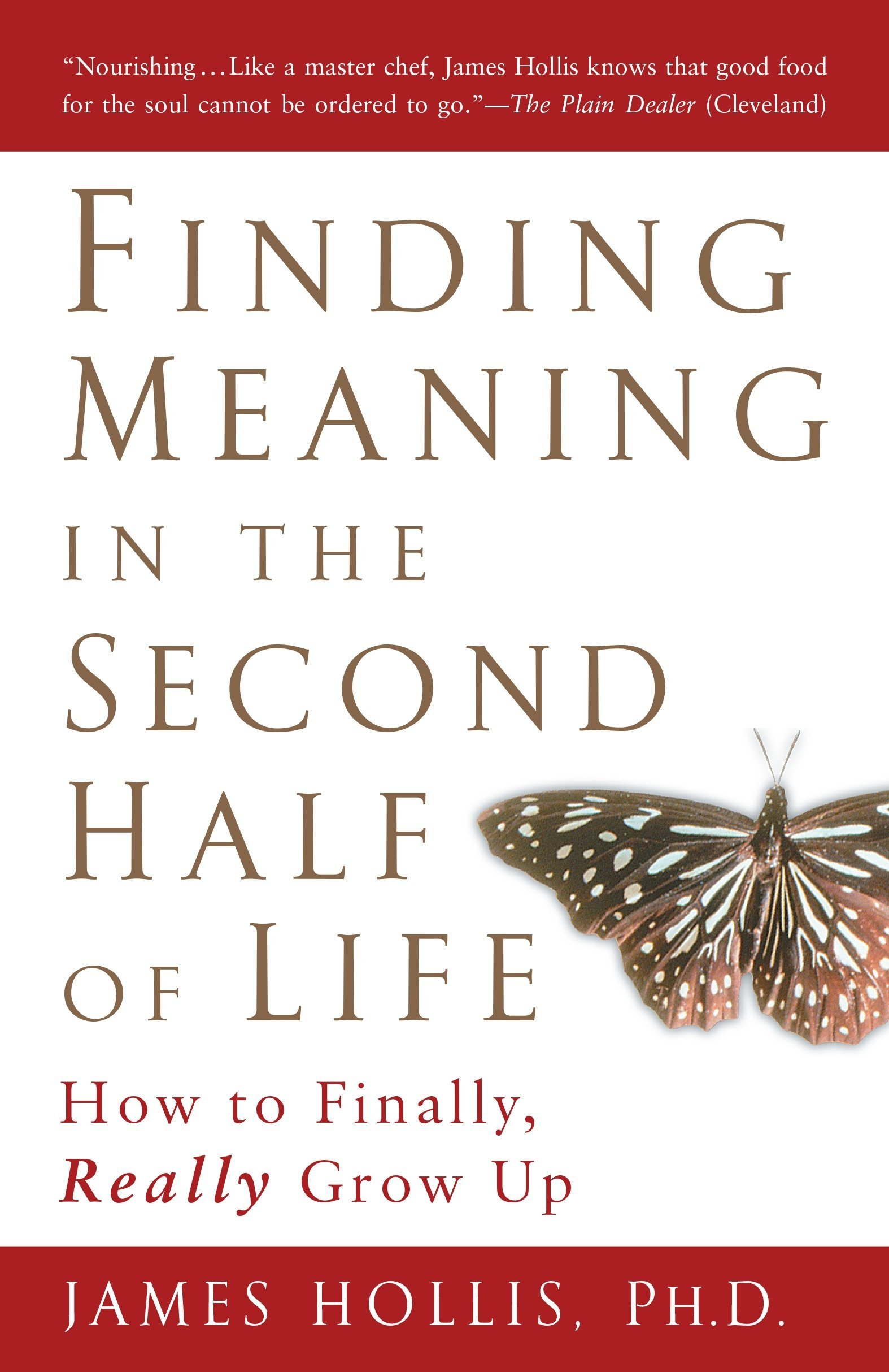 Finding Meaning in the Second Half of Life: How to Finally, Really Grow Up:  James Hollis: 9781592402076: Amazon.com: Books